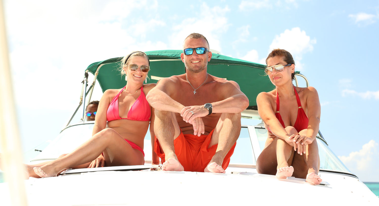 Turks and Caicos Islands boat cruise